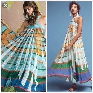 "Anthropologie ""Abstraction"" maxi"